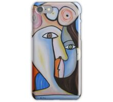 Girl with Hat 4 iPhone Case/Skin