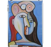 Girl with Hat 4 iPad Case/Skin