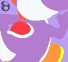 Yoshi (Purple) - Super Smash Bros. Sticker