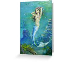 Mermaid of the Deep Greeting Card