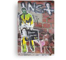 Terrorist Often Wear Suits... Canvas Print