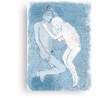Sleep of the widower Canvas Print