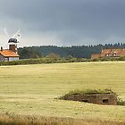 Pillbox Landscape - Weybourne, Norfolk, UK by Richard Flint
