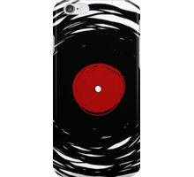 Spinning within with a vinyl record... iPhone Case/Skin