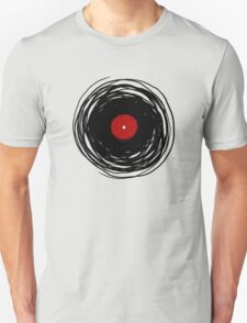 Spinning within with a vinyl record... T-Shirt