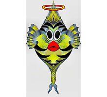 Angelfish Cartoon Photographic Print