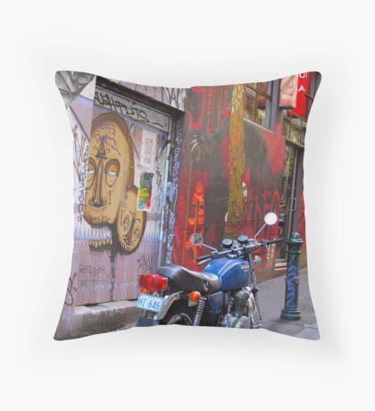 Rutledge Lane, Melbourne Throw Pillow