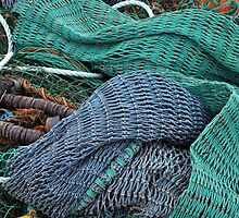 Fish nets by Wabacreek Photography