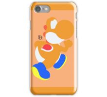 Yoshi (Orange) - Super Smash Bros. iPhone Case/Skin