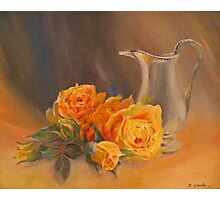ROSES and CREAM Photographic Print