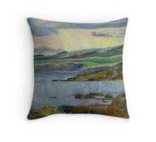 Firth of Clyde Throw Pillow