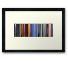Moviebarcode: Hero (2002) Framed Print