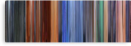 Moviebarcode: Hero (2002) by moviebarcode