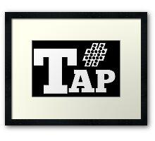 #TAPPER Framed Print