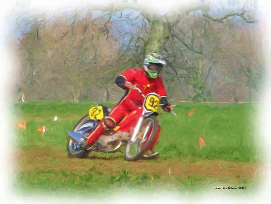 British Grass Track Racing 4 by iangmclean