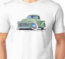 Chevy 3100 Pick-Up Pastel Green Unisex T-Shirt