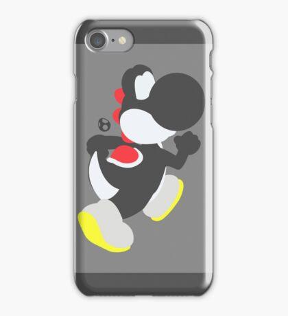 Yoshi (Black) - Super Smash Bros. iPhone Case/Skin