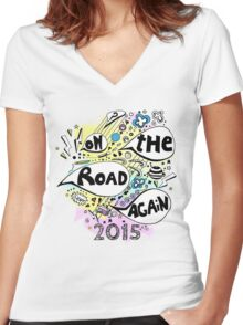 OTRA 2015 Women's Fitted V-Neck T-Shirt