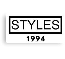 STYLES 1994 Canvas Print