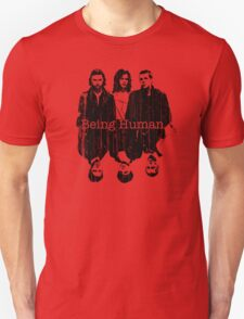 A Vampire, a Ghost and a Werewolf. 1st Generation Unisex T-Shirt