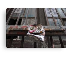Wide eyed Junky's  Canvas Print