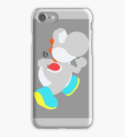 Yoshi (White) - Super Smash Bros. iPhone Case/Skin