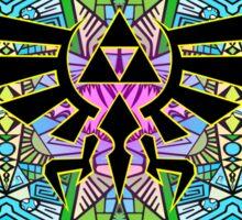 Hylian Royal Crest - Legend Of Zelda - Pattern Sticker