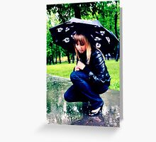~rainy day~ Greeting Card