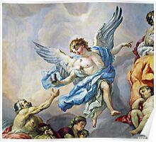 Angel Fresco Poster