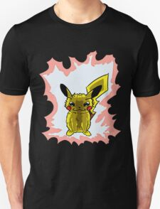 Pikachu - Thunder red T-Shirt