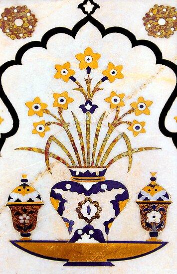 Taj Mahal - Marble Art by RajeevKashyap