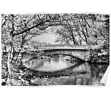 Stanley Park Bridge ~ Infra Red ~ Poster
