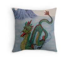 Chinese Destiny Dragon Throw Pillow