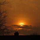 Golden Sunset 02 by Peter Barrett