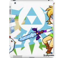LOZ: Skyward Sword- Link vs Cucco iPad Case/Skin