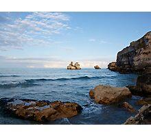 Il mare d'inverno  Photographic Print