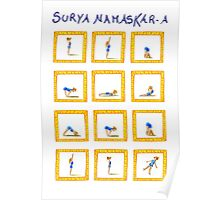 Surya Nanaskar-A The Sun Salutation Poster