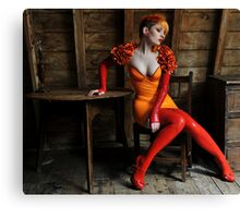 The Lamplighter Canvas Print