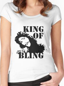 Charles II - King of Bling Women's Fitted Scoop T-Shirt