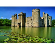 Bodiam Castle, East Sussex, England Photographic Print