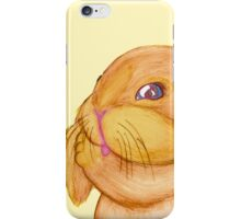Bunny Lumpkins Cleans Their Ears iPhone Case/Skin