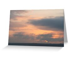 Sunset over Mousehole Greeting Card