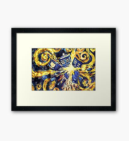 Van Gogh Prophecy Framed Print