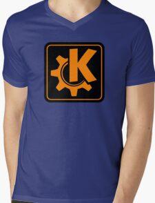 KoquerorOrangeIcon Mens V-Neck T-Shirt