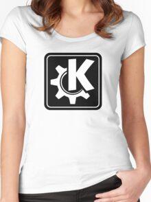 KoquerorBlackIcon Women's Fitted Scoop T-Shirt