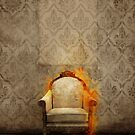Throne in flames by jordygraph
