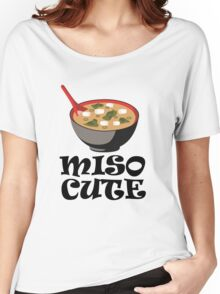 MISO CUTE Women's Relaxed Fit T-Shirt