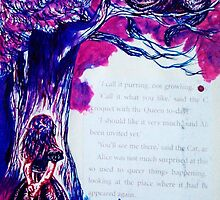 Cheshire and Alice by HannahVarela