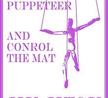 Be the Puppeteer and Control the Mat Jiu Jitsu Purple  by yin888