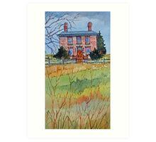 The Samuel Mercer House (Etobicoke), Toronto, Ontario, Canada Art Print